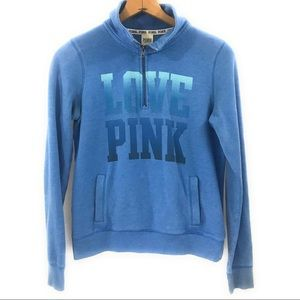 PINK Victoria's Secret Blue Pullover Sweater Small